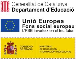 logos FSE MEFP GENERALITAT CATALUNYA