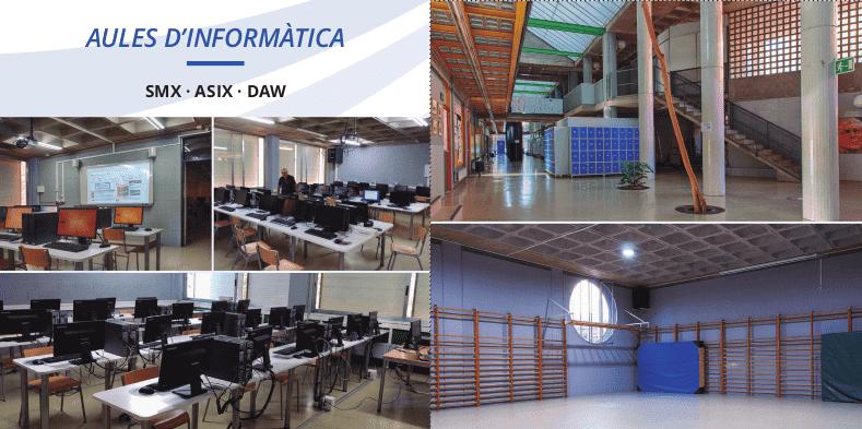 Aules informàtica i espais institut